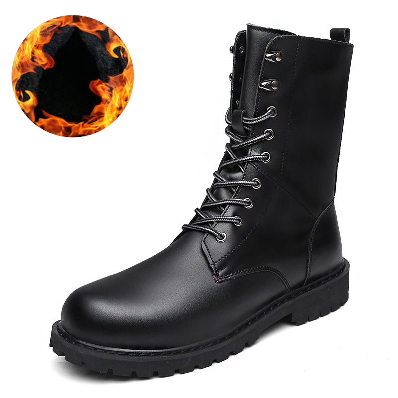 2018 Fashion Combat Boots Men Winter Footwear Martin Military Desert Boots Men's Ankle Boots Snow Shoe Work Plus Size 2018 fashion combat boots men winter footwear martin military desert boots men s ankle boots snow shoe work plus size