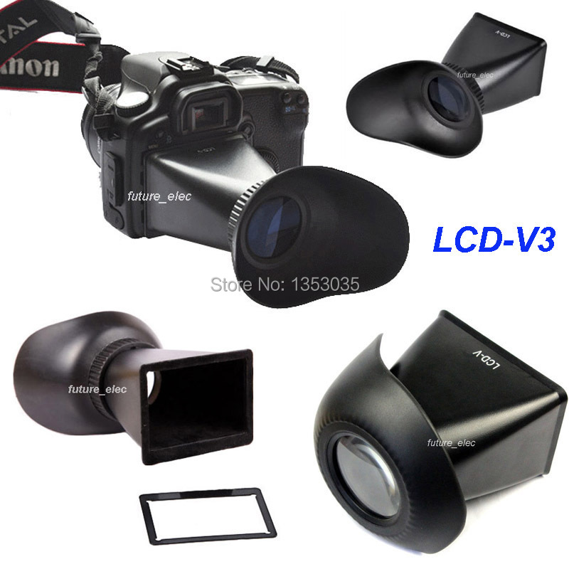 "3/"" LCD Screen 2.8x Display Viewfinder Extender for Canon EOS 600D 60D camera"