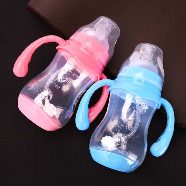 Classic Baby Feeding Bottle With Dust Cover