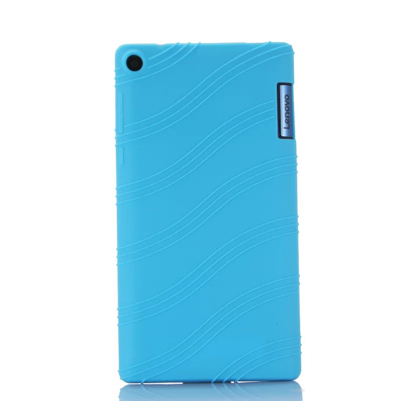 Luxury Ultra Slim Waterproof Soft Silicone Shell Silicon Case Cover For Lenovo Tab 3 Tab3 7.0 TB3-730F 730F 730M 730X 7 Tablet slim fit stand feature folio flip pu hybrid print case for lenovo tab 3 730f 730m 730x 7 inch