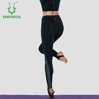 Vansydical Femmes Yoga pantalon trainning Sport Leggings Sport Collants femmes Compréhension des Pantalons De Yoga Courir GYM pantalons top qualité