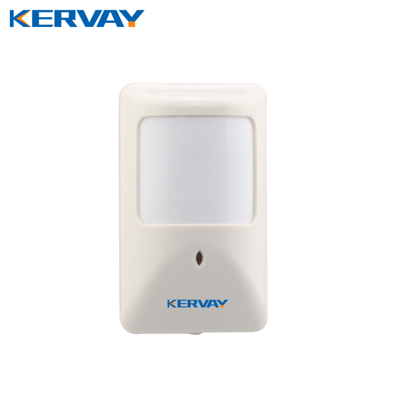 Kervay Indoor wired PIR motion sensor for home security GSM alarm system Infrared Alarm Detector work with Our alarm host yobangsecurity wifi gsm gprs home security alarm system android ios app control door window pir sensor wireless smoke detector