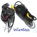 2.4 Ghz Transmissor e Receptor de Vídeo Sem Fio Da Câmera de estacionamento para Parte Traseira Do Carro visão Da Câmera e Monitor de DVD Player Do Carro para BMW E46 39