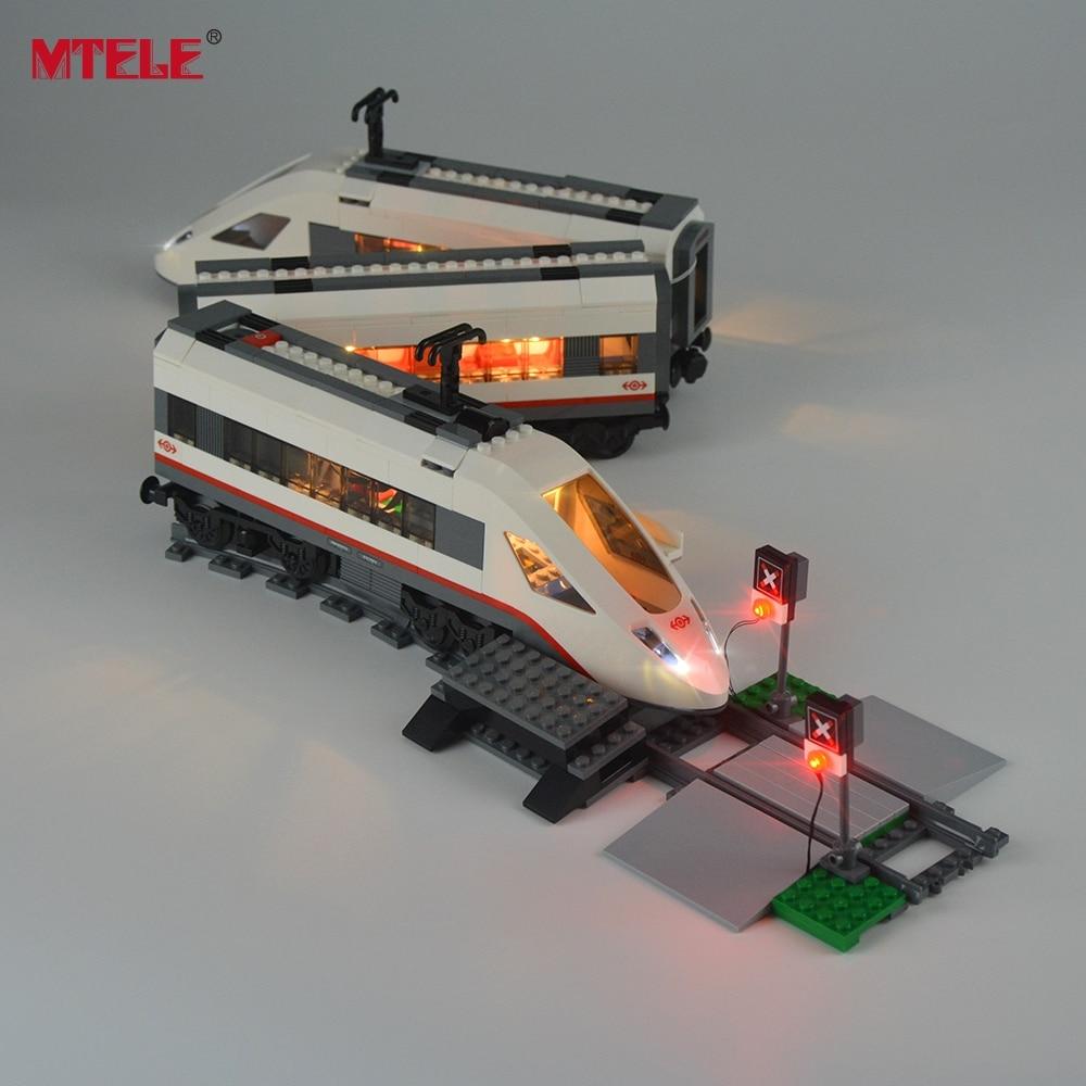 MTELE Brand New Arrival Led Light Kit Untuk Kereta Model Penumpang - Mainan bangunan dan konstruksi - Foto 2
