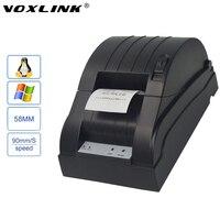Voxlink Портативный USB/Ethernet/LPT Порты и разъёмы 58 мм Термальность pos/ESC получения Термальность принтер для Оконные рамы/ linux/Samsung/espon принтер-DHL