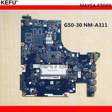 ACLU9/ACLU0 NM-A311 основная плата для Lenovo g50 g50-30 Материнская плата ноутбука DDR3 с N2840/N2830 процессор, 100% работает!
