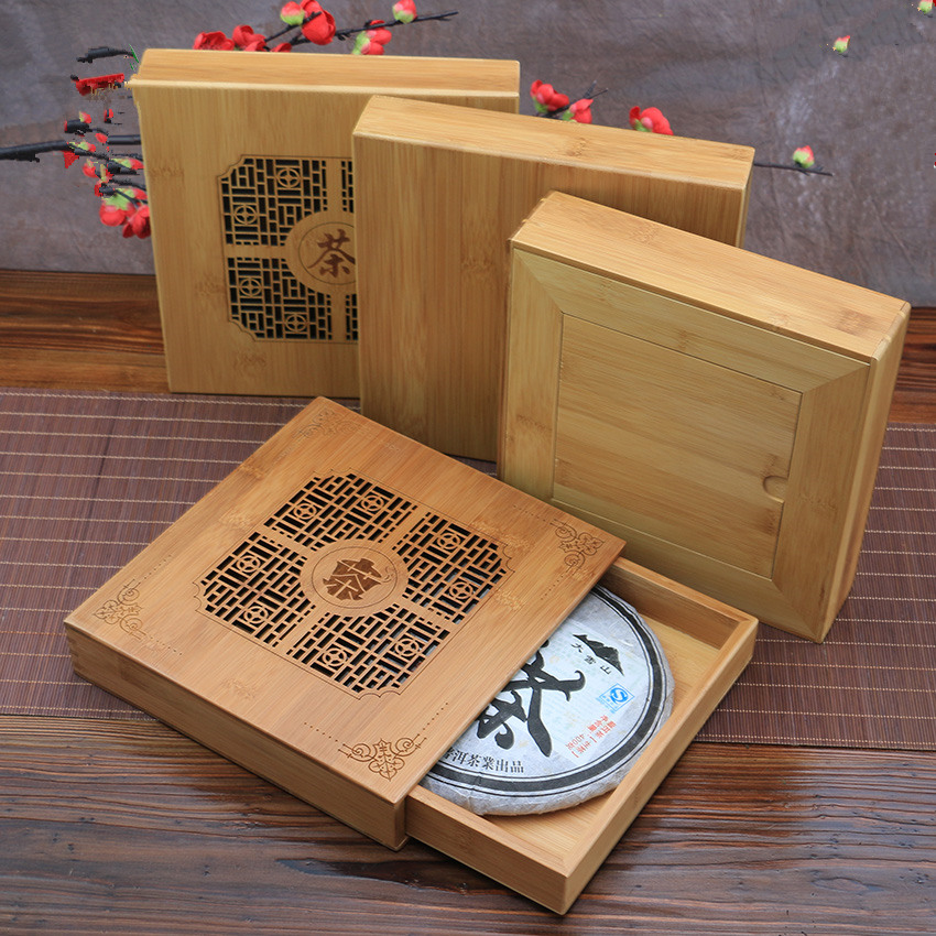 Japan Style Handmade Pu Er Tea Box Kung Fu Tea Storage Tools Health Care  Eco Friendly Tea Set Bamboo Tray Wholesale In Storage Boxes U0026 Bins From  Home ...