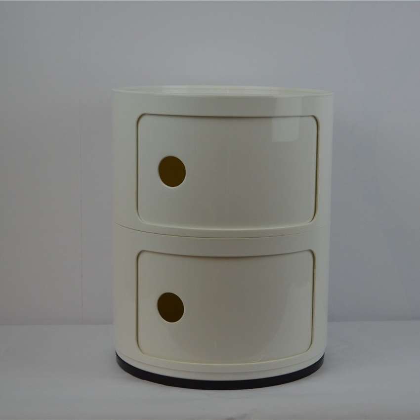 Bedroom furniture night table living room cabinet Storag/Componibili/circular lockers 2Laker Container/Wholesales/free shipping