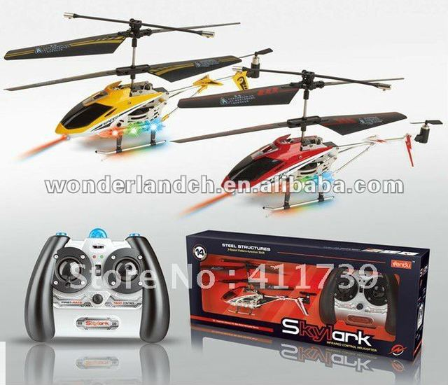 Free shipping 2012 top sale high quality RC Helicopter toys with gyro  for children