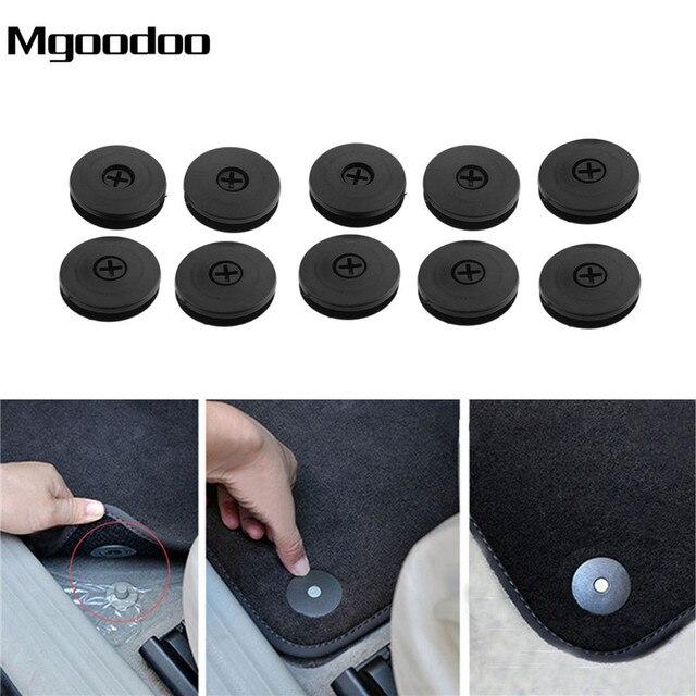 Sujetadores antideslizantes para el coche sujetadores para alfombrilla de espuma resistente a los deslizantes abrazadera fija para Nissan Peugeot Subaru Toyota Honda