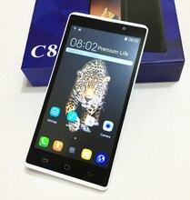 "5,5 ""bildschirm 3G CDMA Smartphone ursprüngliche Admet C8 android 5.1 dual sim handy MT6752 dual core 256 MB + 512 MB H-mobil"
