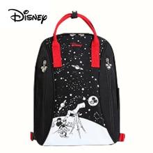 лучшая цена Disney Baby Diaper Bags PU leather cute Bolso Maternal Stroller Bag Nappy Backpack Maternity Bag Mommy Bakim Cantalari Backpack