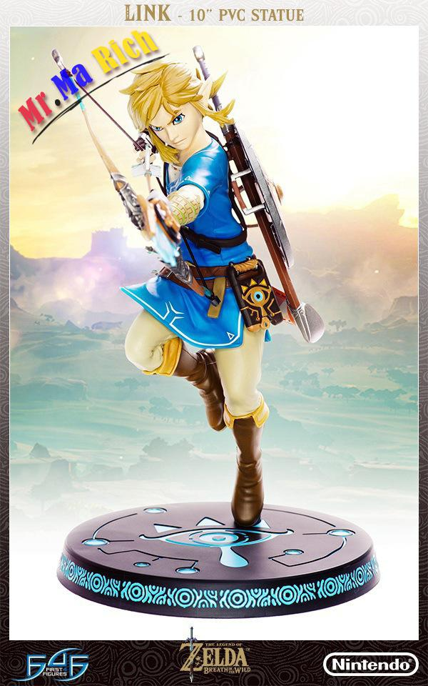 Big Size 20cm The Legend Of Zelda Link Joint Movement Game Anime Action Figure Pvc Toys Collection Figures For Friends Gifts