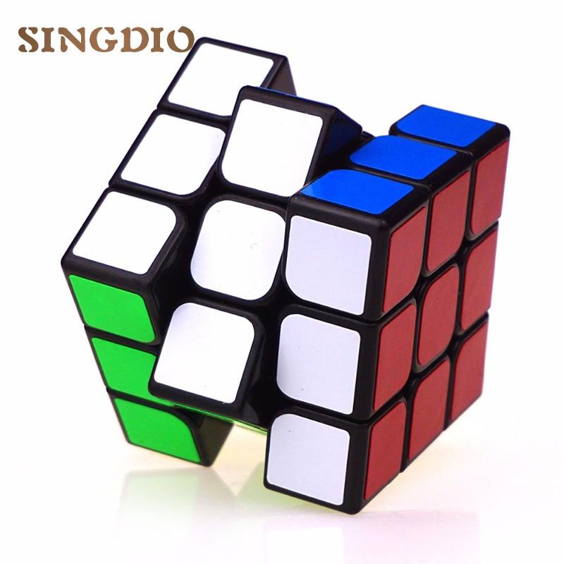 Original puzzle speed font b magic b font font b cubes b font 3x3x3 pvc sticker