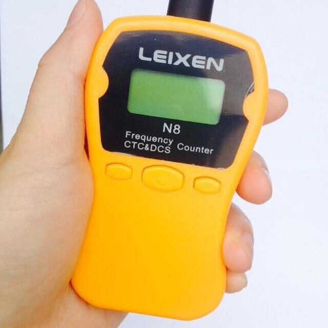 LEIXEI N8 Digital contador de frecuencia escáner más barato ibq102 Metro 1 MHz rango ~ 1000 MHz medida para Radio hermana n1201sa
