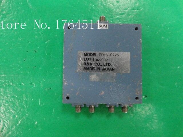 [BELLA] R&K PD4S-0725 700-2500MHZ A Four Divider SMA
