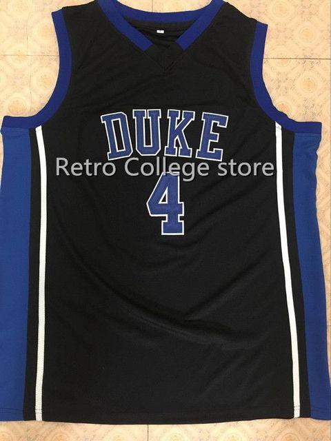 dbd94607f ... coupon for 4 jj redick duke blue devils jers reminiscência retro  basketball jersey new material bordados