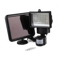 Outdoor Garden 60 LEDs Sensor Waterproof Floodlight Spotlight Solar Lamp Bulb