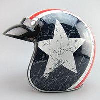 Free Shipping Fashion TORC Helmets Captain America 3 4 Retro Vintage Capacete Motorcycle Open Face Helmet