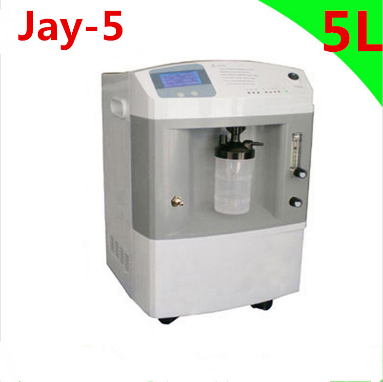 Medical oxygenerator Home/Hospital/Clinic Use 5LOxygen Concentrator single flow JAY-5 oxygen tank oxygen regulator 870 medical oxygen bottle flow regulator