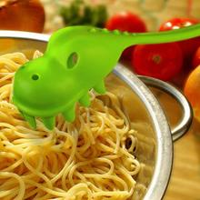 Dinosaur Pasta Spaghetti Pasta Serving Fork Filter Spoon Colher Kitchen Accessories цена 2017