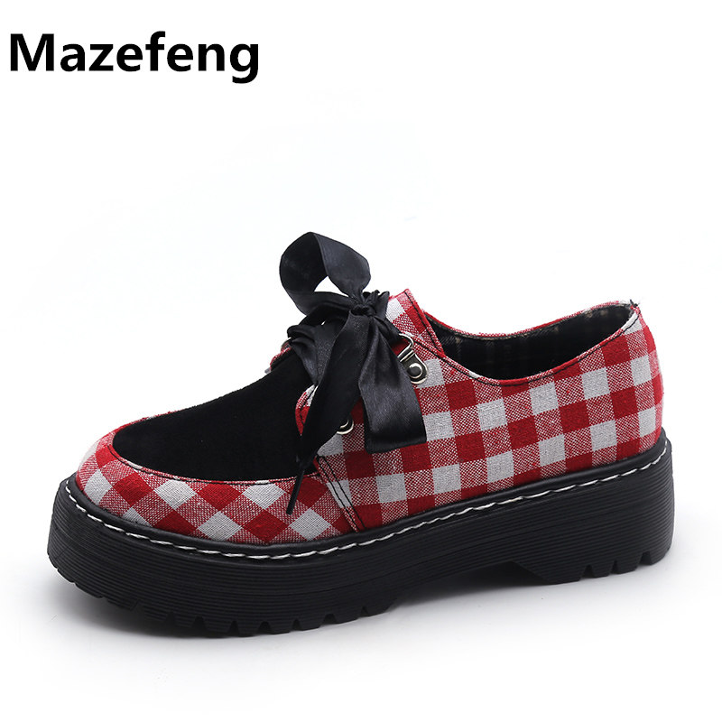Korean Female Students All-Match Women Shoes Thick Round British Style Casual Shoes Woman Tide Zapatos Mujer hevxm 2017 spring korean ladies fashion round head flat pu ordinary shoes female students british wind shoes