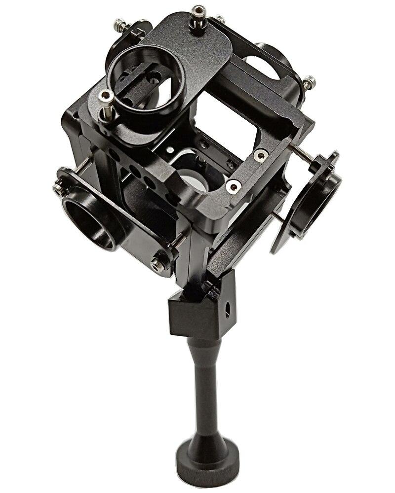 Gopro HD Hero 3 + 4 prise de vue complète boîtier Alu 360 degrés monture de cadre panoramique sphérique VR support vidéo pour photographie aérienne