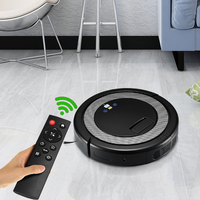 Alfa Wise 3 In 1 Smart Robot Vacuum Cleaner For Home Remote Control Robotic Cleaner Auto Self Recharge 1000Pa Strong Suction