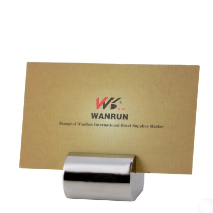 Countertop business card holder bstcountertops solid stainless steel business card holder display stand desk countertop colourmoves
