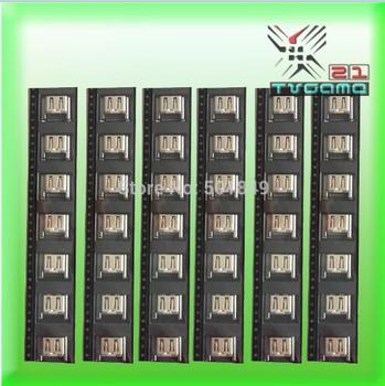 500Pcs/Lot  New and Teseted Silver Color HDMI Socket For PS4 For Playstation 4 1000/1100/1200 Series Socket Port Connector