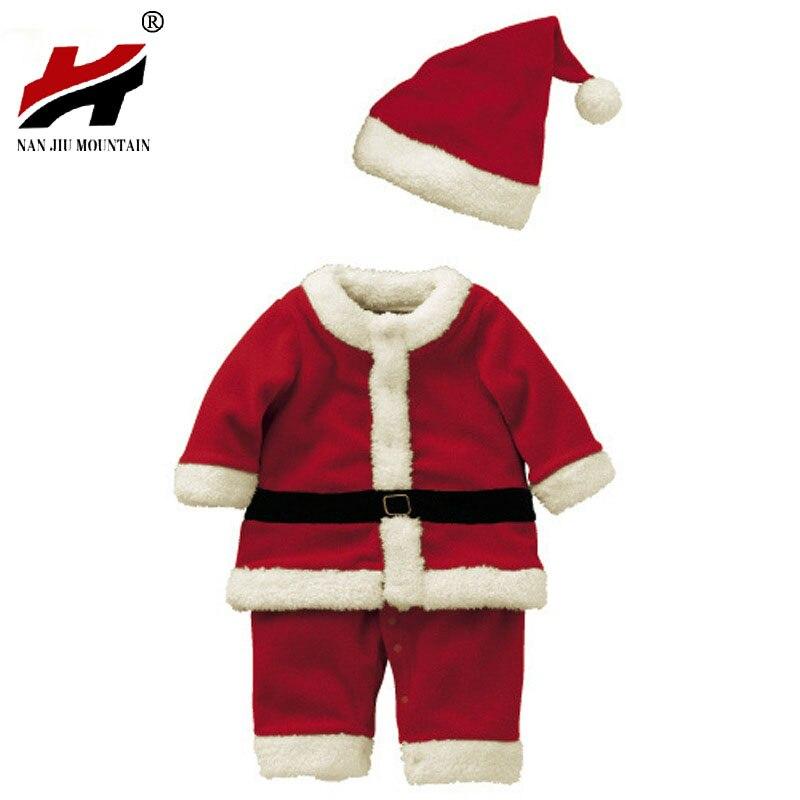 Новая одежда на Рождество для малышей боди Детский костюм ...