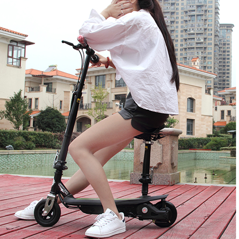 2017 New Inflatable Air Wheels Folding Electric Scooter Re-chargeable Mini Scooter Skateboard For Child Adults Hot Sale scooter para niños 2018