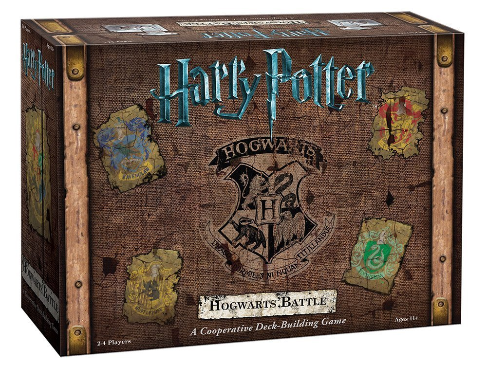 Harry Potter Hogwarts Battle Cooperative Deck Building Card Game | Official Harry Potter Licensed Merchandise 2016 real sale popin cookin harry potter box bean boozled jelly beans crazy sugar adventure tricky game funny april fool s day
