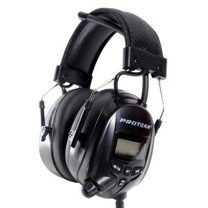Image 3 - واقي للأذنين يعمل بنظام راديو AM FM واقي للأذنين من بروتار NRR 25dB للحماية الإلكترونية من السمع