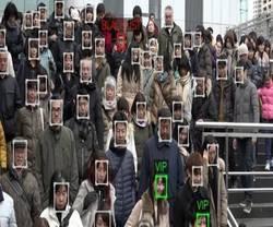 Настроить лица распознавания программного обеспечения распознавания лиц системного программного обеспечения
