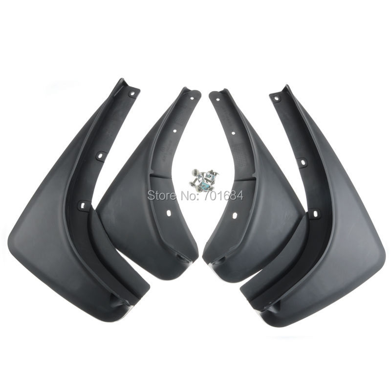 Front Rear Mud Flaps Splash Guard Fender For 2015 2016 2017-up Jeep Renegade [QPA415] fit for jeep wrangler jk 2007 2015 mudflaps mud flap splash guard mudguards front rear fender accessories