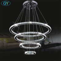 2014 New Brief Tactical Amber Crystal Pendant Lights Modern Dining Room Restaurant Bar LED Pendant Lamps