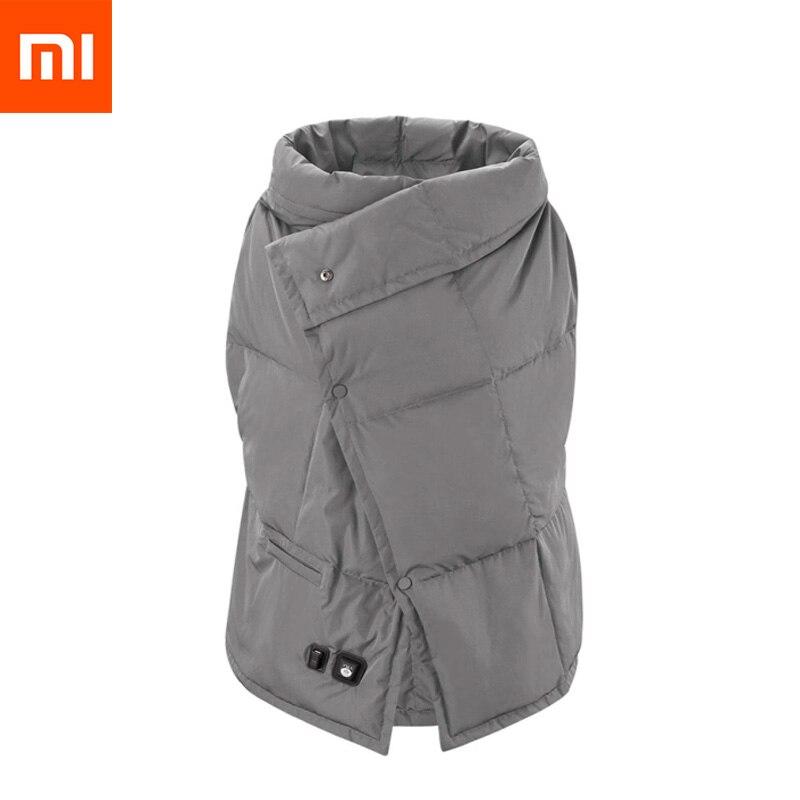 Xiaomi PMA B20 Графен многофункциональное нагревательное одеяло моющийся теплый жилет быстрая теплая шаль наколенник анти ожоги для женщин Офис