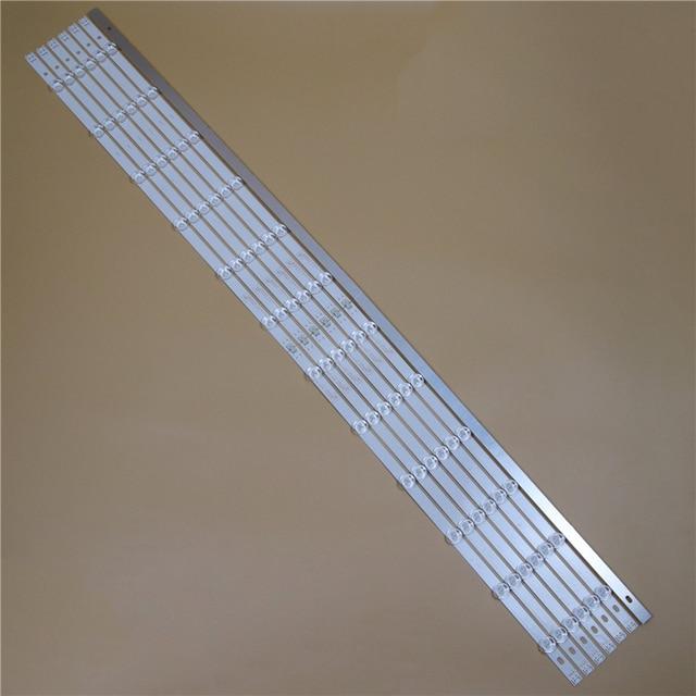 TV LED Light Bars For LG 55LN5758 55LN575R 55LN575S 55LN575U Backlight Strips L R Kit 12 LED Lamps Lens 14 Bands Pola2.0 55 inch