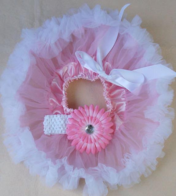 Fotografía del bebé Bebés Que Arropan el sistema Niñas Bebé de La Manera Princesa Fiesta de Baile de Tul Falda Set Flower Hair Band + tutu falda