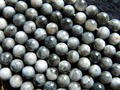 Free shipping natural Brazil grey hawk eye 8mm cat eye smooth round beads stone wholesale