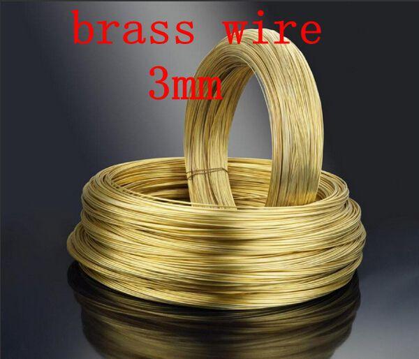 3mm Brass H62 copper wire Brass wire Brass rod 1 mm to 5 mm