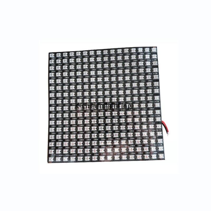 1X flexible DC5V input APA104 LED matrix panel 16*16 pixels free shipping