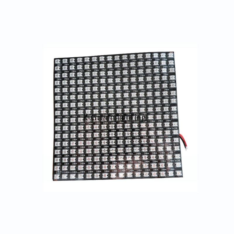 Фотография 1X flexible DC5V input APA104 LED matrix panel 16*16 pixels free shipping