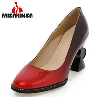MISAKINSA Pointed Toe High Heel Shoes Woman Brand New Heels Pumps Ladies Stylish Heels Party Shoes Heeled Footwear Size 32 44
