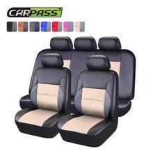 Car-pass универсальное автокресло крышка аксессуары для интерьера водителя совместимые автомобильные сиденья дышащая подходят для большинства марка автомобиля