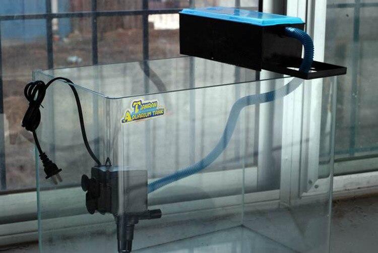Popular box filter aquarium buy cheap box filter aquarium for Tetra pond filter setup