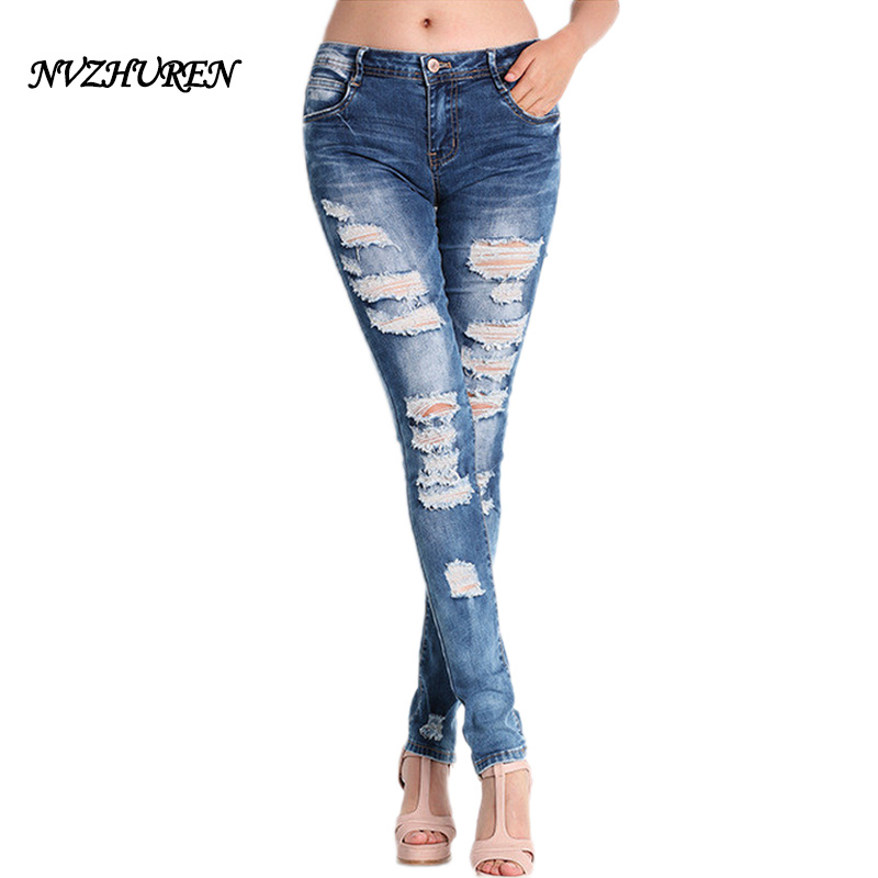 Online Get Cheap Ripped Skinny Jeans -Aliexpress.com   Alibaba Group