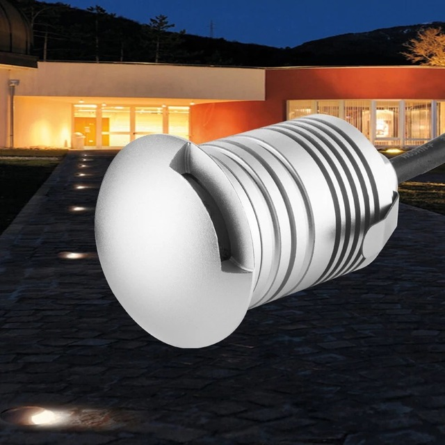 Ip67 3w Led Underground Light Outdoor Inground Garden Square Flood Spotlight Waterproof Landscape Lamp