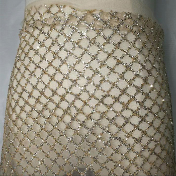 5y per lot shining glitter sequins lace african  good quality lace fabric factory directly price free shipping